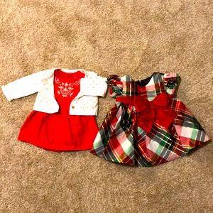 EUC Christmas Dress